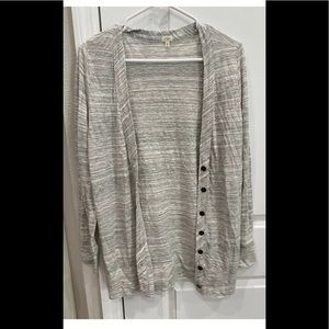 J. Crew Women's Button Sweater  Size Small